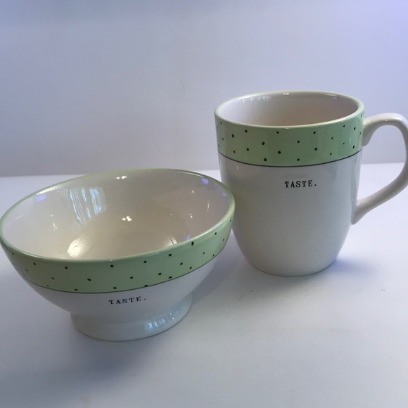 Rae Dunn Other - Rae Dunn Coffee or tea mug matching cereal bowl